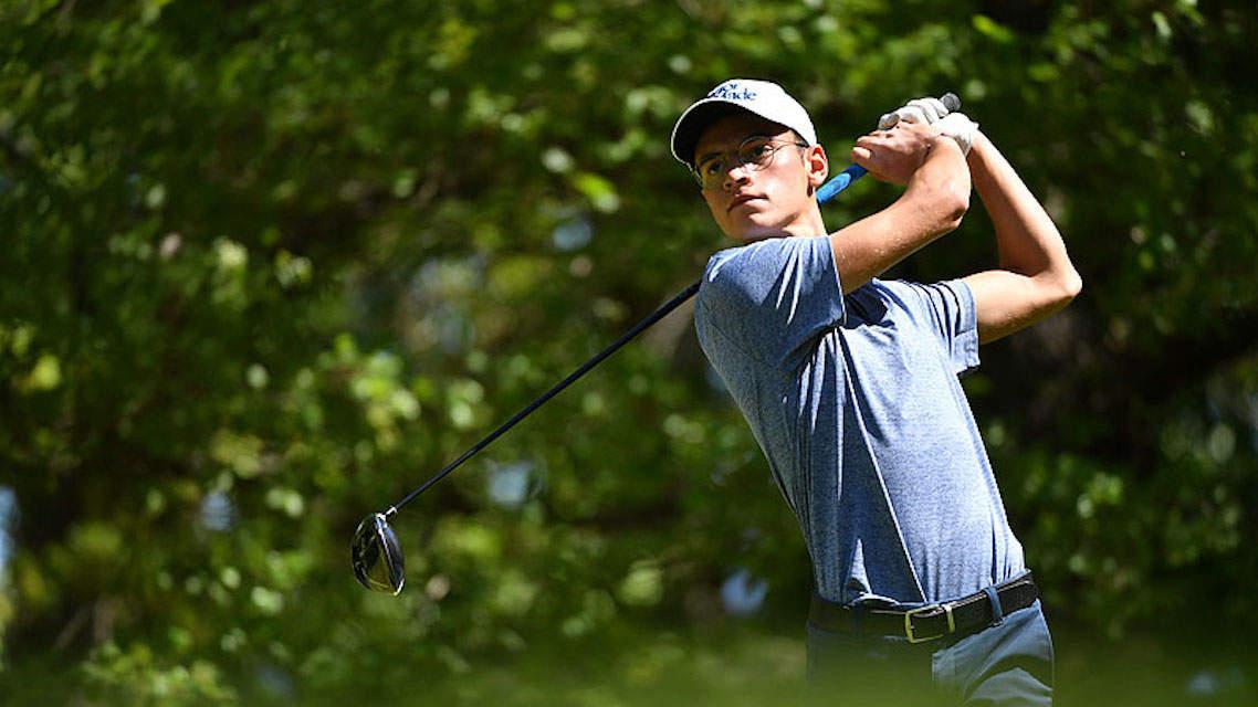 Un golfeur ambitieux